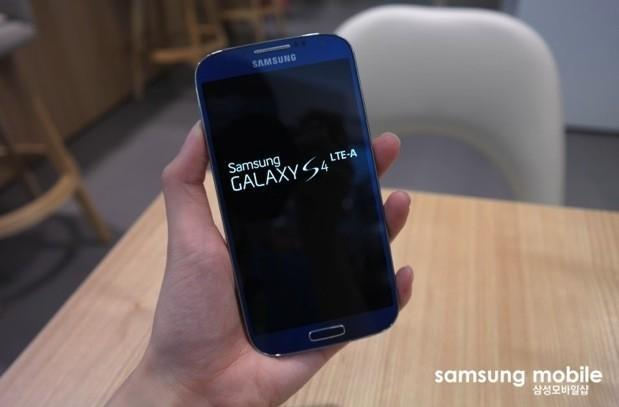 Samsung Galaxy S4 with LTE-Advanced leaks out in red and blue