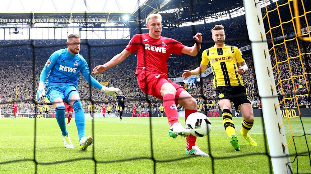 Borussia Dortmund 0 Cologne 0: Stoger brings BVB back to earth
