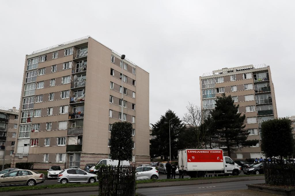 The suspect in the attack at Paris's Orly airport lived in Garges-les-Gonesse, a gritty northern suburb (AFP Photo/Thomas SAMSON)
