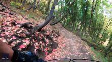Mountain Biker's Headcam Captures Spectacular Fall Colors During Utah Trek