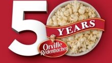 Orville Redenbacher Celebrates 50 Years of Creating Memories Over a Perfectly Popped Bowl of Popcorn