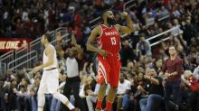 James Harden puts up MJ numbers to outduel LeBron, push Rockets past Cavs