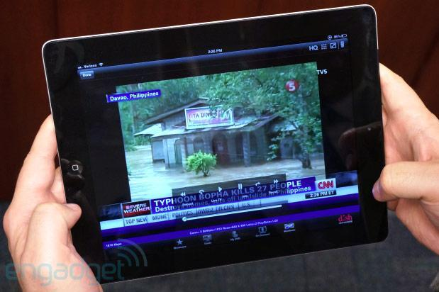 Dish Anywhere app delivers content on the go, Sling video feed from Hopper DVR (hands-on)
