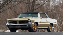 The prized golden 1965 Pontiac Hurst GeeTO Tiger is headed to auction