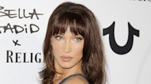 How Bella Hadid Got Bangs Overnight