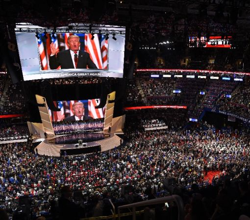 Trump fever infects convention finale