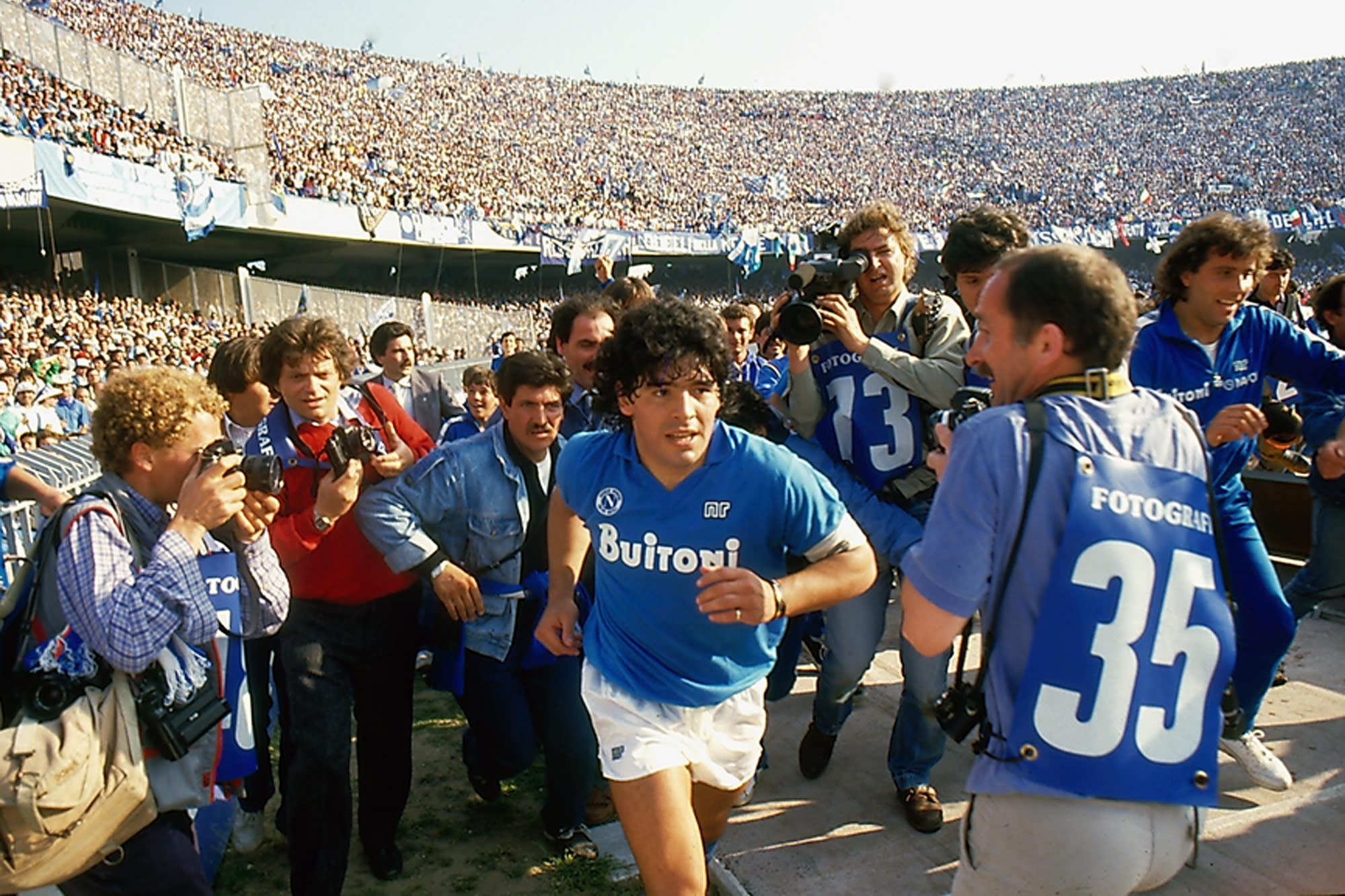 Soccer God Maradona S Rise And Fall In Asif Kapadia S Doc