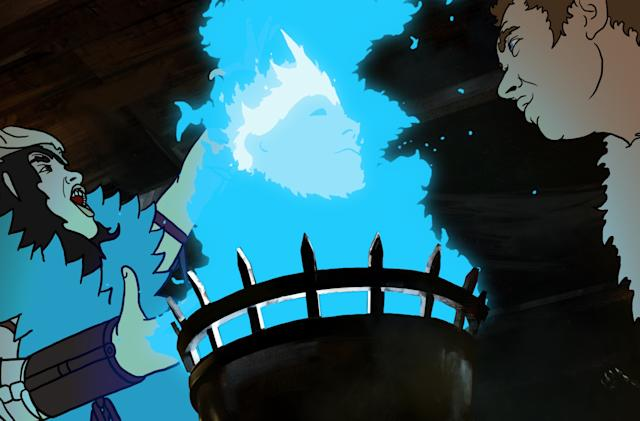 A Windows update nearly destroyed hand-drawn fantasy epic 'The Spine of Night'
