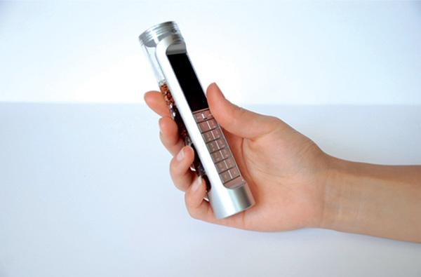Sugar-powered phone concept robs us of perfectly good Coke