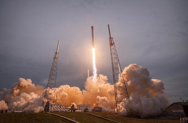 SpaceX is launching one of its last disposable rockets