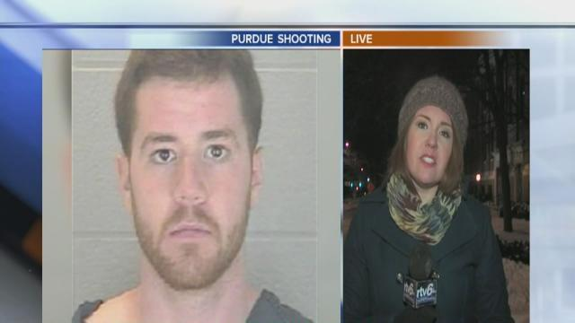 What prompted Purdue U. shooting?