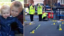 Pictured: Brothers aged two and six killed in Coventry crash as 'hit-and-run' driver is arrested