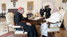 Vatican: le pape François reçoit le cardinal Pell après son acquittement