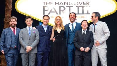 'The Hangover III' Arrives in London