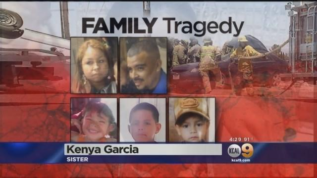 Loved Ones Grieve After Family Of 5 Killed In Hesperia Car Crash