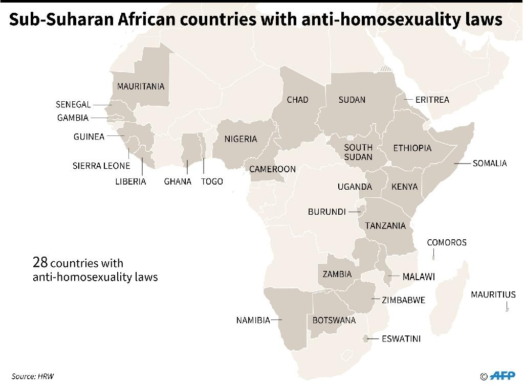 Anti gay laws widespread in Africa despite gains