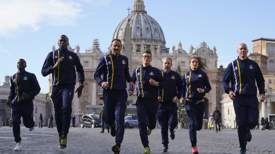 Il Vaticano lancia una squadra di atletica