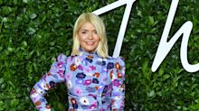 Holly Willoughby joins models and A-listers at Fashion Awards