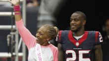 Kareem Jackson's mother, sister fought cancer. Now the Houston Texans star is giving back.