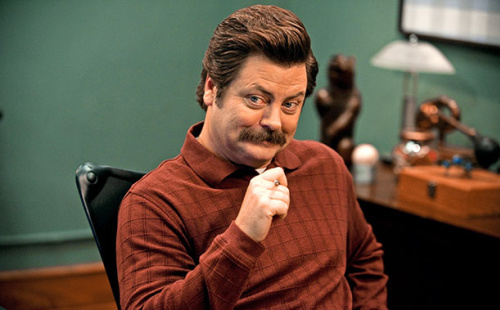 Nick Offerman reveals who Ron Swanson would vote for