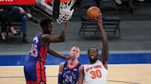 Julius Randle leads New York Knicks to win against Detroit Pistons