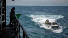 Eight still missing after US Marine amphibious vehicle sinks