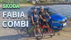 【老爹出任務】四輪+二輪 自行車旅行 這台很OK!!....SKODA FABIA COMBI Ft.魏小猴