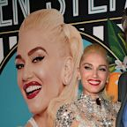 Gwen Stefani & Blake Shelton Pack on the Halloween PDA…in Costume