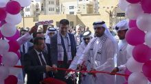 Qatar opens Gaza artificial limb, rehab center after delays