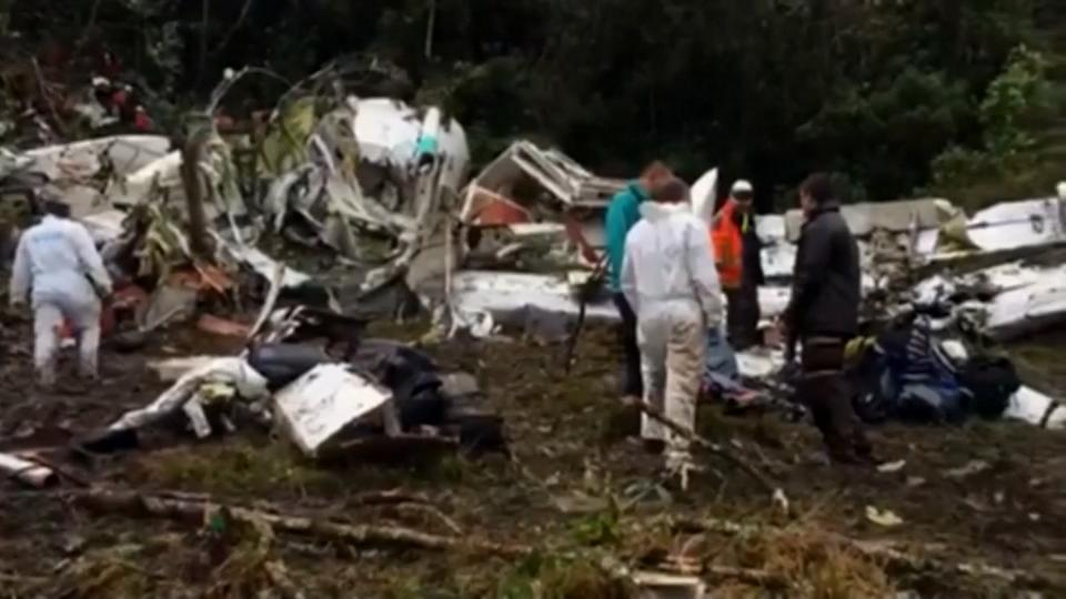 Morgue working to identify Colombia crash victims [Video]