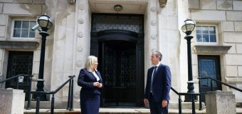 New Northern Ireland first minister installed amid turmoil in his DUP party