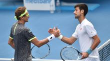 Defending champ Djokovic stunned by Istomin at Australia Open