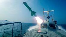 Iran missiles target fake carrier as US bases go on alert
