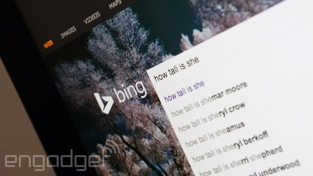 Bing now lets you ask follow-up questions after your searches