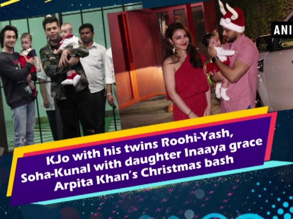 Kjo with his twins roohi yash soha kunal with daughter for Roohi bano husband name