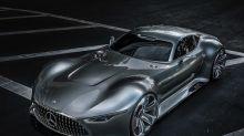 Mercedes unveils stunning AMG Vision Gran Turismo concept