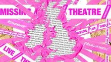 Designers to wrap empty UK theatres with message of hope