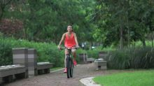 Breakup drove her to extreme exercise routine
