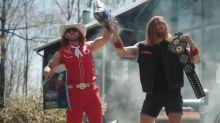Notes: Hockenson, Kittle team up in backyard wrestling BBQ commercial