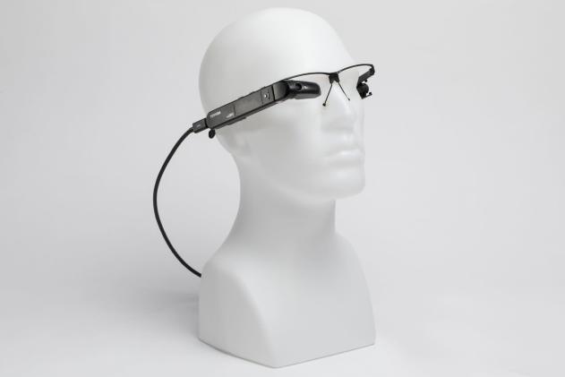 Toshiba's smart glasses are powered by mini Windows PCs