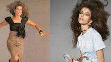 Cindy Crawford & Kaia Gerber's Versace campaigns