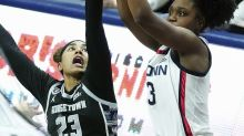 UConn (10-0) has no problem with Georgetown