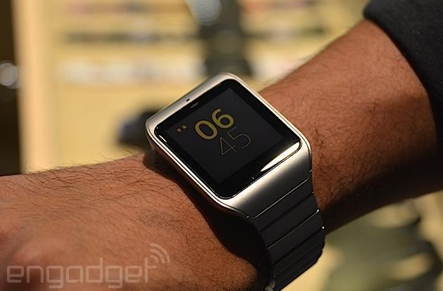 Sony's still-new SmartWatch 3 gets a stainless steel makeover