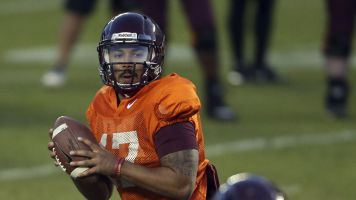 Tech-nical difficulties resolved for Hokies QB