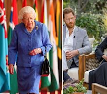 The Queen's Commonwealth Day speech showed 'where the royal family's priorities lie' hours before Meghan Markle and Prince Harry's tell-all interview