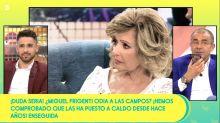 """María Teresa Campos carga contra 'Sálvame' (Telecinco) en directo: """"Hombre, por favor, dejadnos tranquilas"""""""
