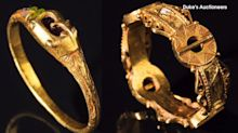 Treasure hunter finds 600-year-old gold rings