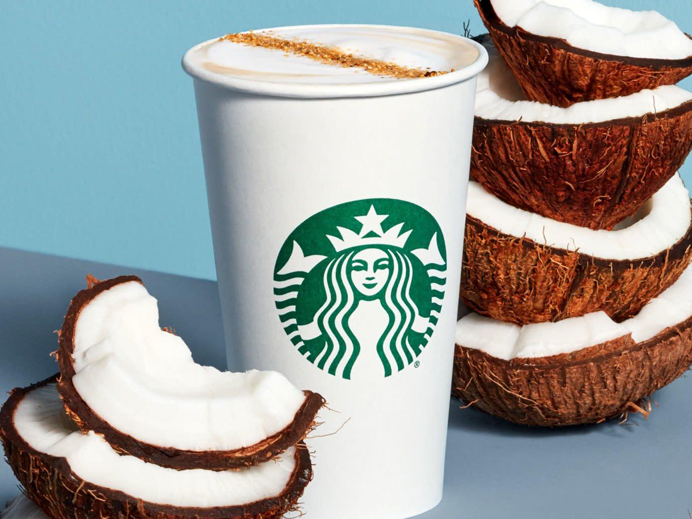 Hasil gambar untuk Starbucks Now Has Two New Non-dairy Drinks on Its Menu