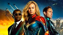 'Captain Marvel' reviews hail Brie Larson's 'straight-up female powerhouse' superhero