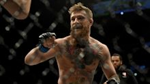 Conor McGregor returns to childhood boxing club, competes against amateur opponent